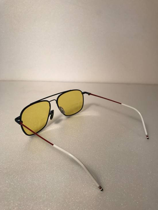 Thom Browne Rare Thom Browne Tinted Yellow Sunglasses Size ONE SIZE - 1