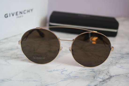 Givenchy NEW Givenchy 7048/S Oversized Round Aviator Sunglasses in Gold/Brown Size ONE SIZE - 3