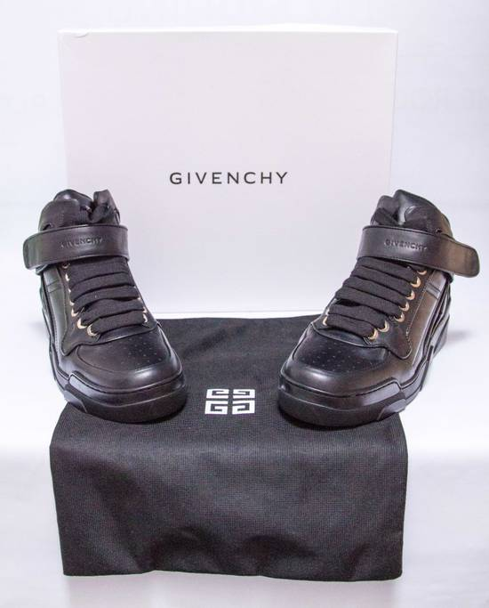 Givenchy BNIB DS Givenchy Black Leather Velcro-strap mid-top Size US 9.5 / EU 42-43 - 1