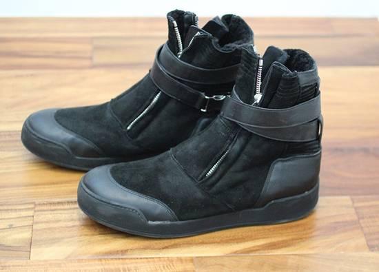 Balmain Shearling Sneakers Size US 10 / EU 43