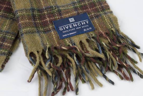 Givenchy GIVENCHY Wool Scarf Plaid Size ONE SIZE - 1