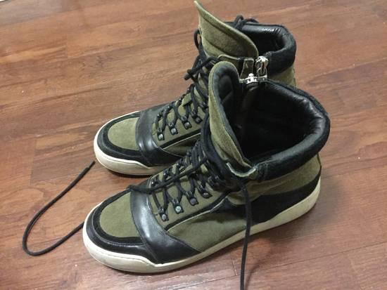 Balmain HM Balmain Hi Top Sneaker Size US 11 / EU 44 - 4
