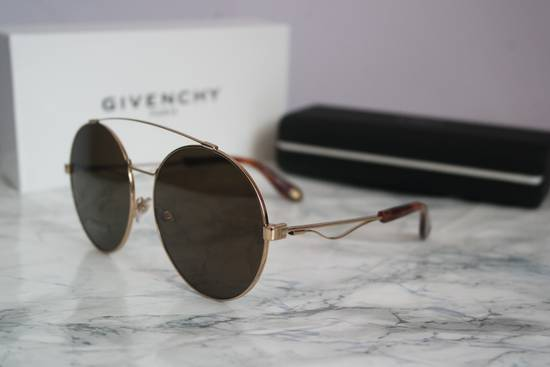 Givenchy NEW Givenchy 7048/S Oversized Round Aviator Sunglasses in Gold/Brown Size ONE SIZE - 2