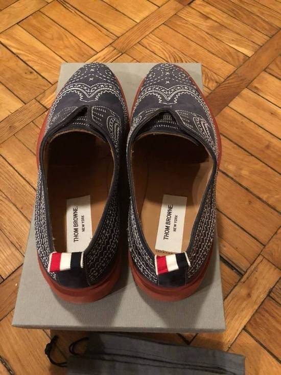 Thom Browne THOM BROWNE Stitched Nubuck Laceless Balmorals Size US 8 / EU 41 - 2