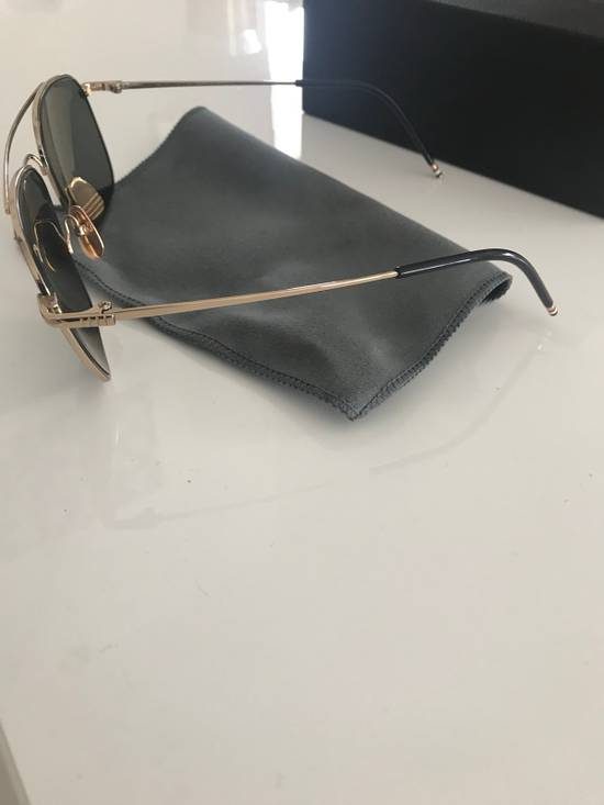 Thom Browne Thom Browne Gold Sunglasses Size ONE SIZE - 1