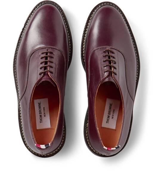 Thom Browne Oxford Leather Shoe $1150 Size US 10 / EU 43 - 6