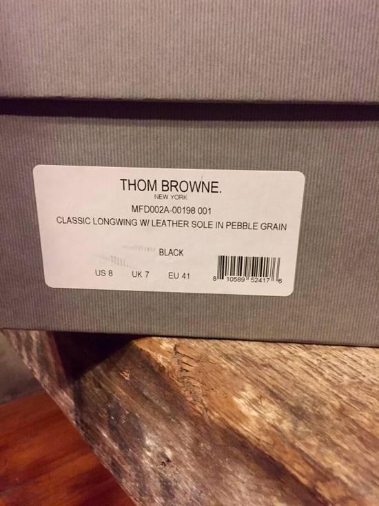 Thom Browne *Brand New* Black Leather Brogues Size US 8 / EU 41 - 5