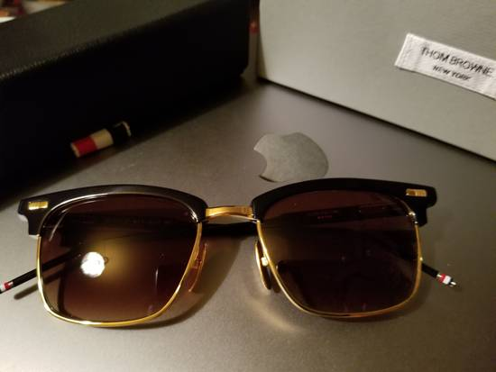 Thom Browne D-Frame Sunglasses TB 711 Size ONE SIZE