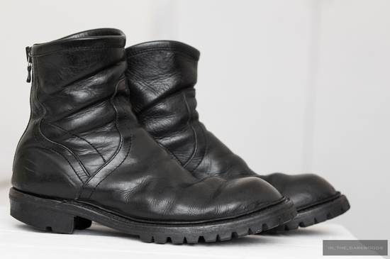 Julius = last drop = engineer vibram sole leather boots Size US 9.5 / EU 42-43 - 7