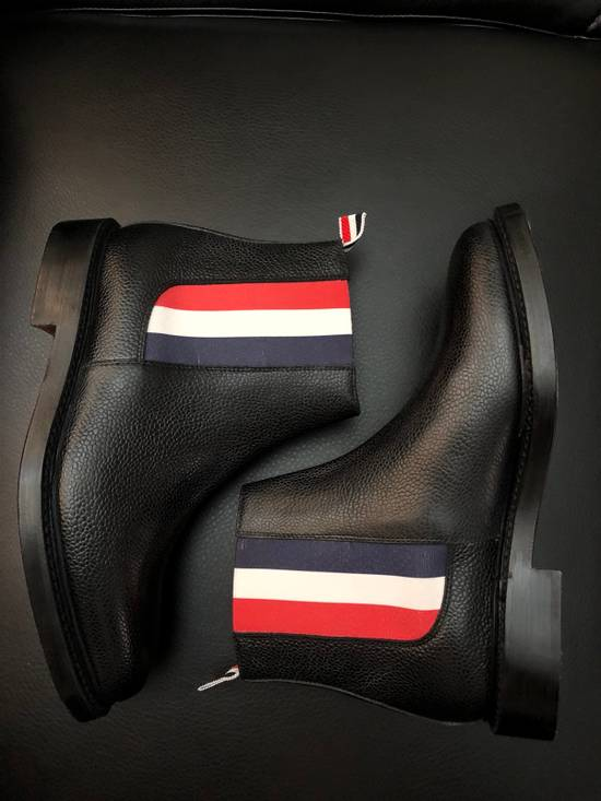 Thom Browne Pebbles Leather Chelsea Boot Size US 7 / EU 40