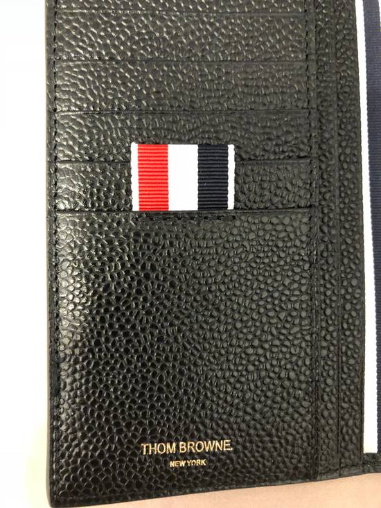 Thom Browne pebbled leather vertical wallet Size ONE SIZE - 6