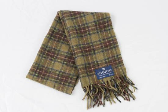 Givenchy GIVENCHY Wool Scarf Plaid Size ONE SIZE
