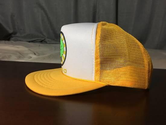 Pharrell Vintage N*E*R*D Gold/White Trucker Hat (2003) Size ONE SIZE - 2
