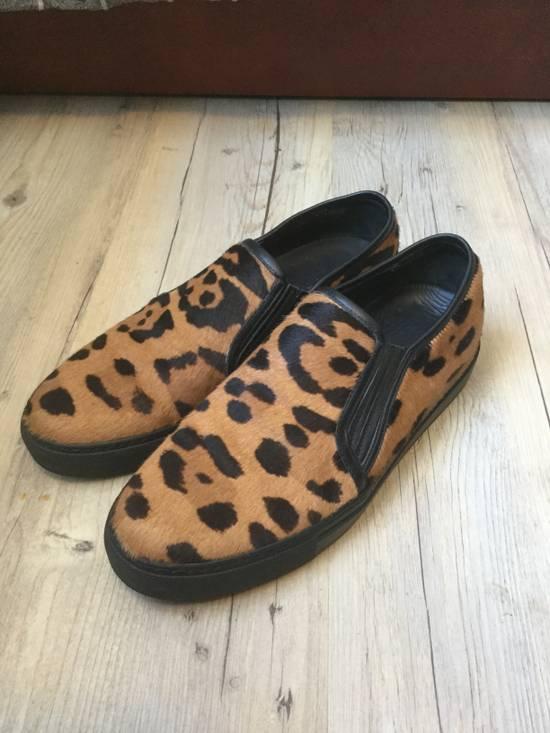 Balmain !GRAIL! Leopard slip-on sneakers Size US 7 / EU 40 - 3