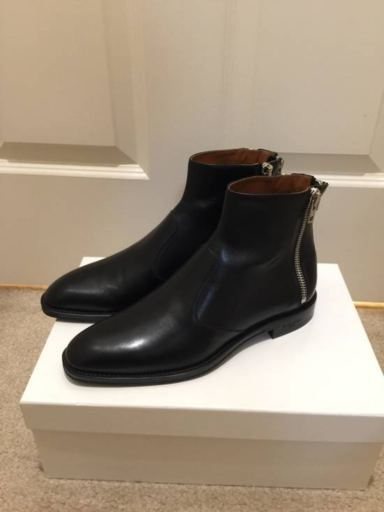 Givenchy zip detail ankle boots Size US 8 / EU 41