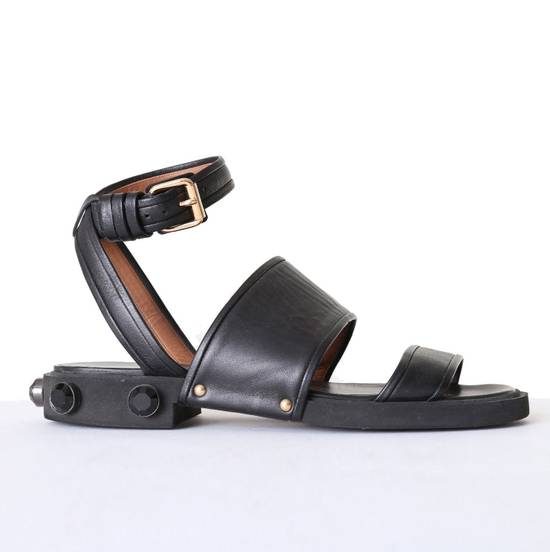 Givenchy GIVENCHY TISCI black leather jewel outsole ankle dual strap sandal EU41 US11 UK8 Size US 8 / EU 41 - 1