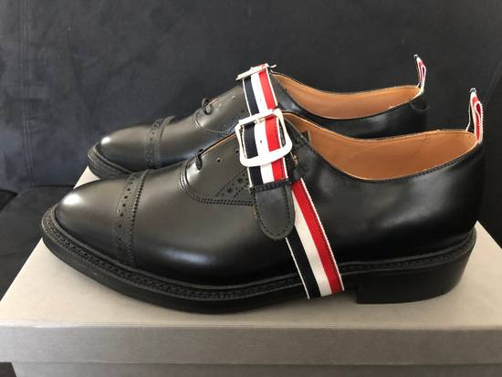 Thom Browne thom browne black pebble grain leather size 9.5US Size US 9.5 / EU 42-43 - 3