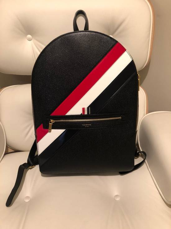 Thom Browne diagonal stripe backpack Size ONE SIZE