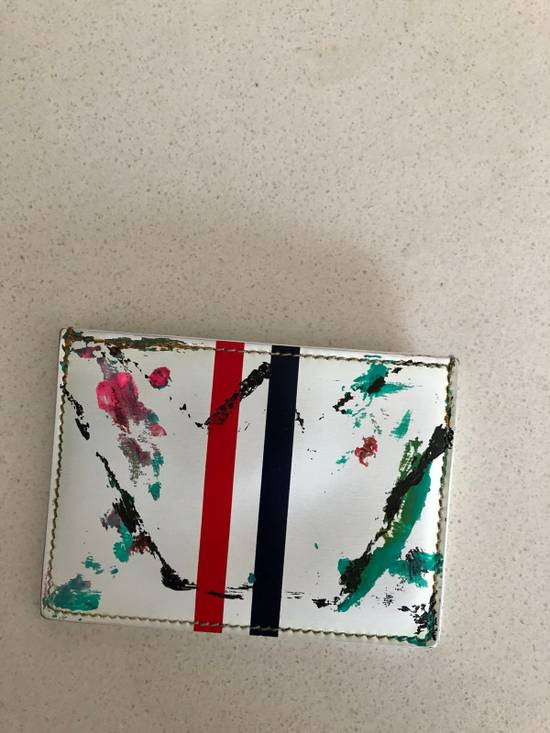 Thom Browne Thom Browne X Mister E Card Holder Size ONE SIZE - 1