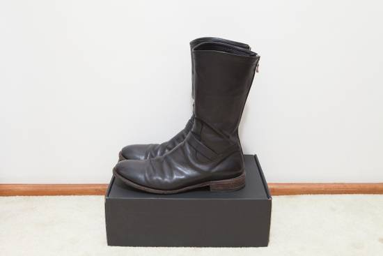 Julius Engineer Back Zip Boots Size US 8 / EU 41