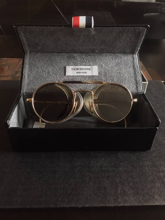 Thom Browne Thom Browne 12K Gold Aviator Sunglasses Size ONE SIZE