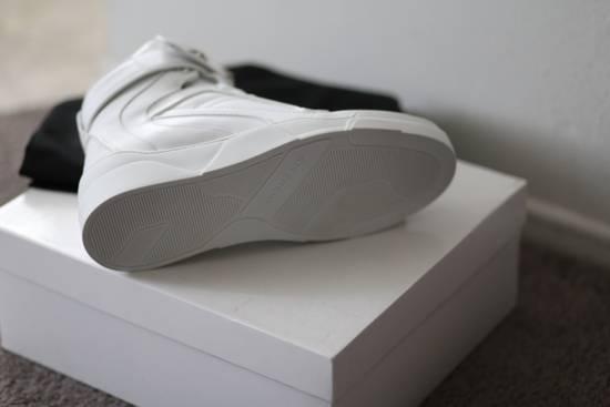 Givenchy Tyson Hightop STARS STRAPS Leather Sneaker Size US 12 / EU 45 - 2