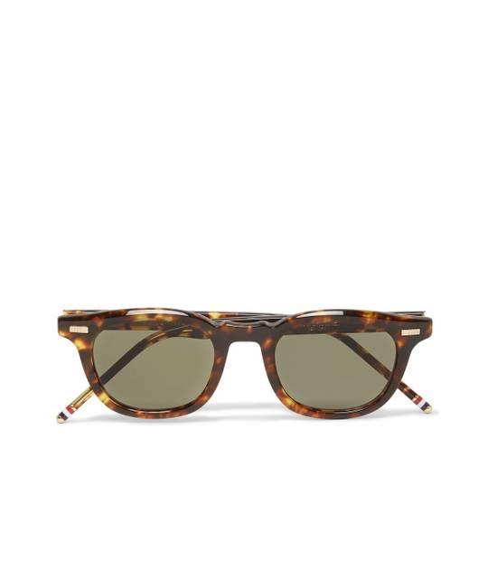 Thom Browne TB-403 Sunglasses - Tokyo Tortoise Size ONE SIZE - 16