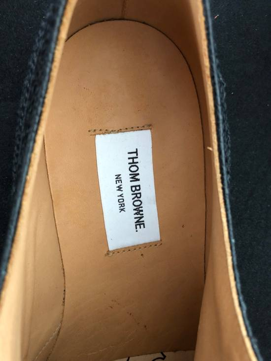 Thom Browne Thom Browne black grained-leather Longwing brogues size 9US Size US 9 / EU 42 - 3