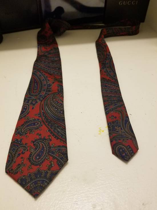 Balmain Pierre Balmain Red Tie 100% Silk Made in Italy Size ONE SIZE - 1