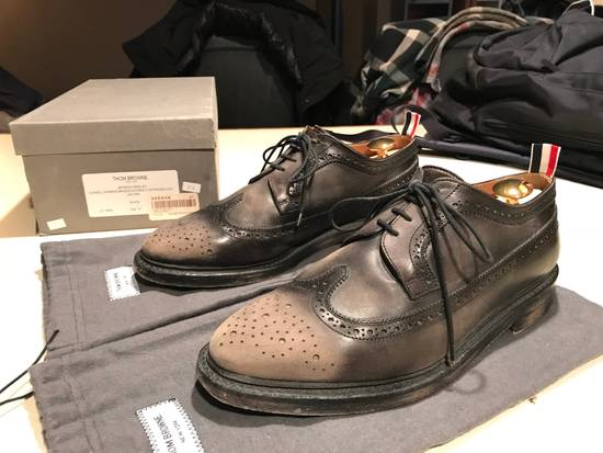 Thom Browne Phase 3 Distressed Classic Longwing Brogue Size US 10 / EU 43 - 2