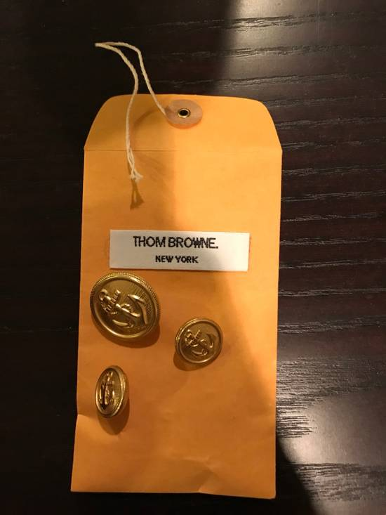 Thom Browne Anchor Buttons Size ONE SIZE