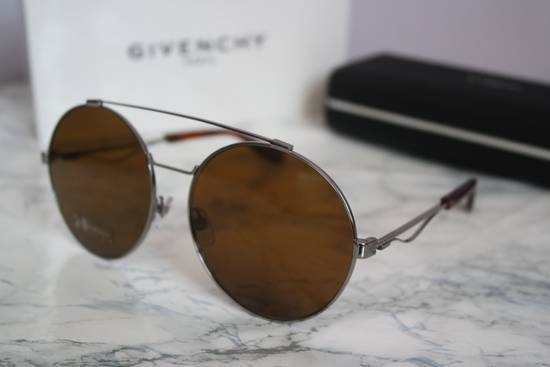 Givenchy NEW Givenchy 7048/S Oversized Round Aviator Sunglasses in Pale Gold/Brown Size ONE SIZE