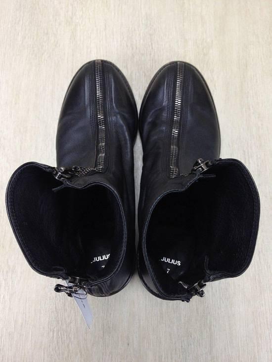 Julius ARCHIVE FW09 Front Zip Boots Size 2//9.5-10 Great Condition Size US 9.5 / EU 42-43 - 1
