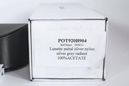 Balmain NIB LARGE UNISEX SILVER GRADIENT AVIATORS, RRP 595$ Size ONE SIZE - 7