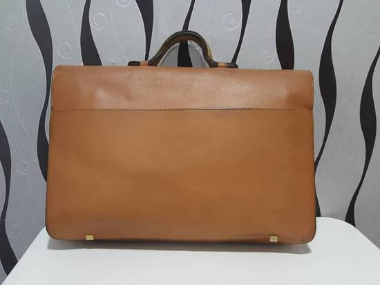 Givenchy RARE & COLLECTION Authentic Givenchy Fully Leather Document Bag / Givenchy Bag / Vintage Givenchy Bag Size ONE SIZE - 1
