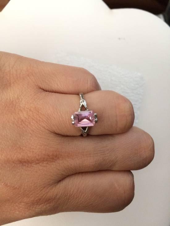 Jw Pink CZ Ring - Size 5.25 Size ONE SIZE - 2