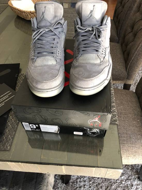 wholesale dealer 076ea 94aa1 Air Jordan Kaws 4 Retro Grey Original Fake