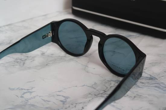 Givenchy NEW Givenchy GV 7056/S Blue Black Tint Lens Round Frame Sunglasses Size ONE SIZE - 6