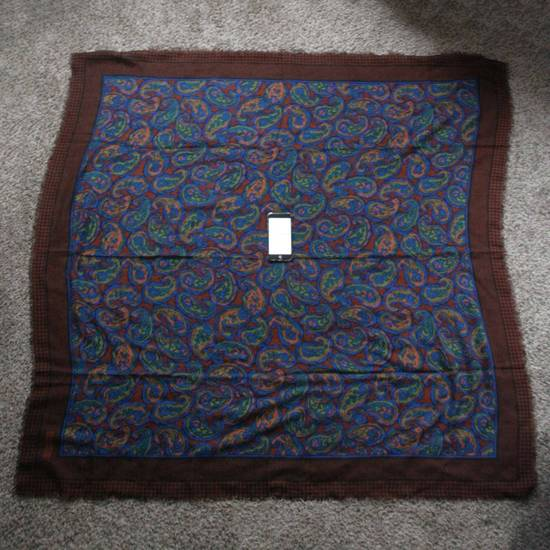 Givenchy Vintage Paisley Silk Scarf Size ONE SIZE - 2