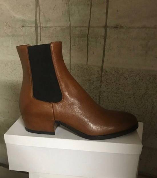 Givenchy Wedge Boot in Camel Brown Leather Size US 10 / EU 43