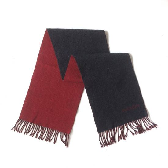 Givenchy Vintage Wool Dual Tones Muffler / Scarf Size ONE SIZE