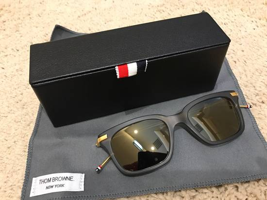 Thom Browne TB701 Crystal Grey / Gold Size ONE SIZE