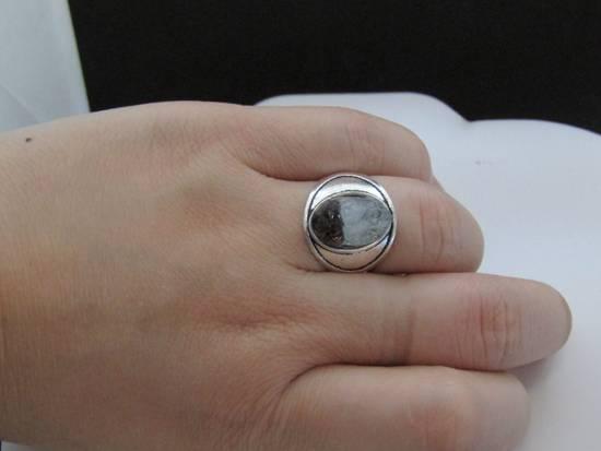 Handmade Quartz Crystal Tibetan Silver Ring - Size 7.5 Size ONE SIZE - 2