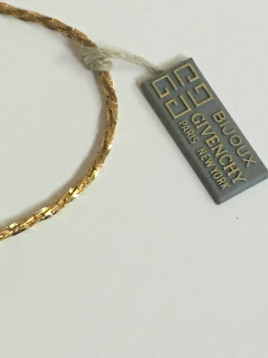 Givenchy Vintage Givenchy Thin Gold Necklace Size ONE SIZE - 4