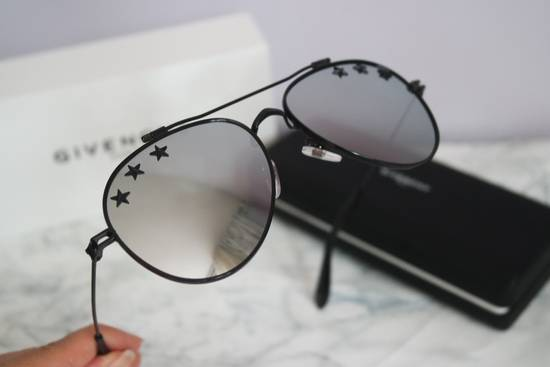 Givenchy NEW Givenchy GV7057/S 7057 Star Aviator Silver Mirrored Sunglasses Size ONE SIZE - 5