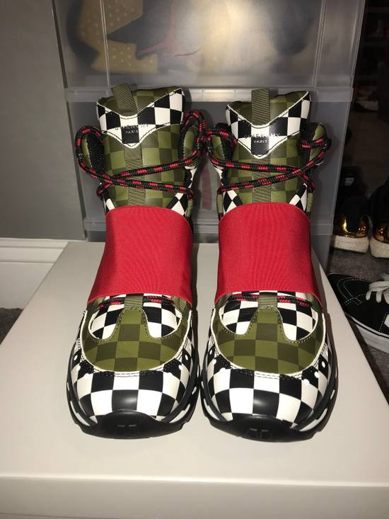 Givenchy Givenchy Show Trainer Shoe, MultiColored / Checkered, Size 43 Size US 10 / EU 43 - 1