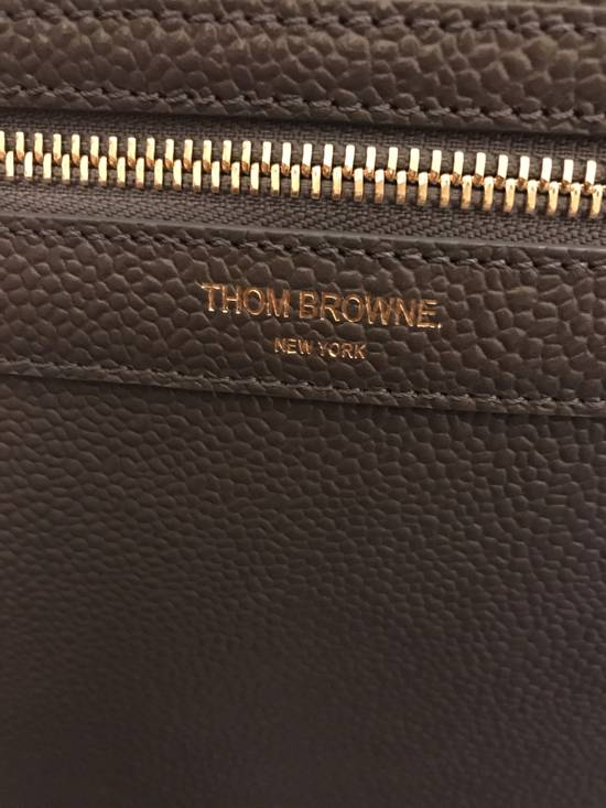 Thom Browne Thom Browne Leather backpack Size ONE SIZE - 1