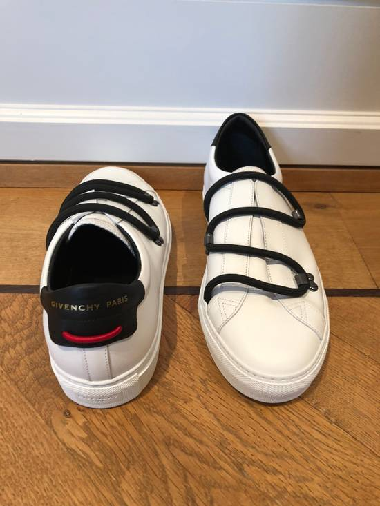 Givenchy Urban Sneaker By GIVENCHY In White Matte Leather Size US 8 / EU 41