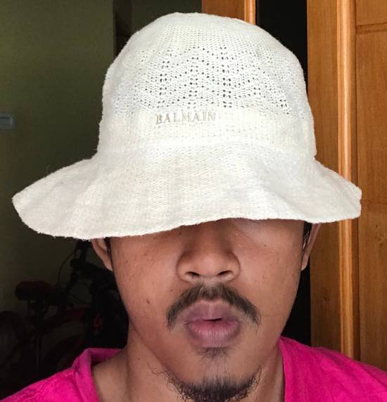 Balmain Vintage Bucket hat Balmain material wool authentic Size ONE SIZE - 4