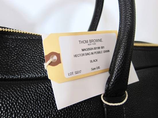 Thom Browne Hector Pebbled Leather Bag Size ONE SIZE - 6